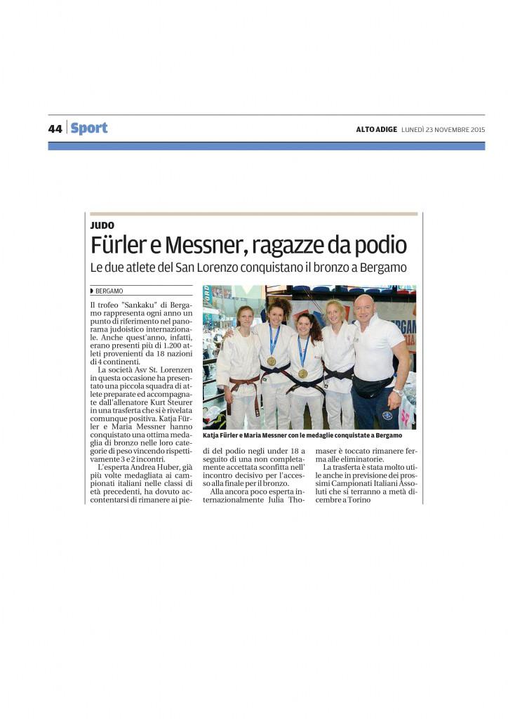 Alto Adige: Fürler e Messner, ragazze da podio